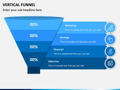Vertical Funnel PPT Slide 1