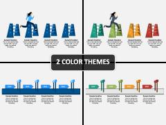 Challenges Hurdles Timeline PPT Cover Slide
