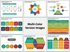 Business Operations (BizOps) Multicolor Combined