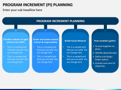 Program Increment Planning PPT Slide 1