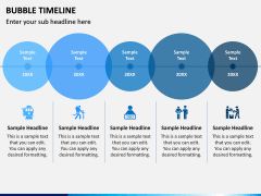 Bubble Timeline PPT Slide 6