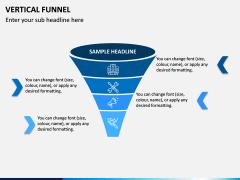 Vertical Funnel PPT Slide 12