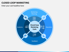 Closed Loop Marketing PPT Slide 1