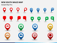 New South Wales Map PPT Slide 7