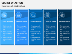 Course of Action PPT Slide 6