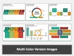 Agile Delivery Model Multicolor Combined