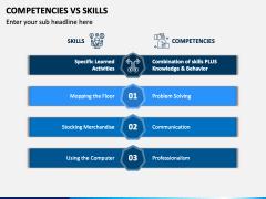Competencies Vs Skills PPT Slide 2