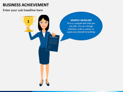 Business Achievement PPT Slide 3