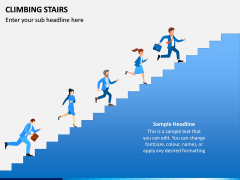 Climbing Stairs PPT Slide 1