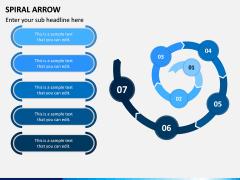 Spiral Arrow Infographics PPT Slide 8