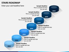 Stairs Roadmap PPT Slide 5