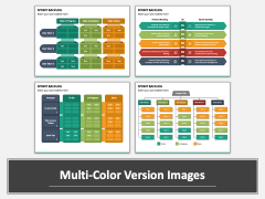 Sprint Backlog PPT Multicolor Combined