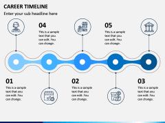 Career Timeline PPT Slide 4