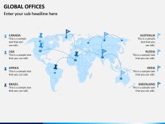 Global Offices PPT Slide 7