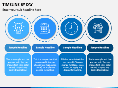 Timeline By Day PPT Slide 4