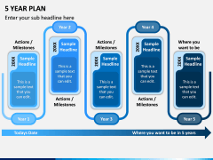 5 Year Plan PPT Slide 5