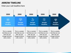 Arrow Timeline PPT Slide 5