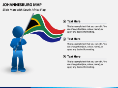 Johannesburg Map PPT Slide 4