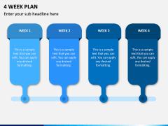 4 Week Plan PPT Slide 1