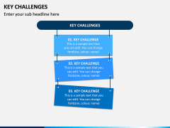 Key Challenges PPT Slide 1