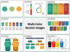 Waste Segregation Multicolor Combined