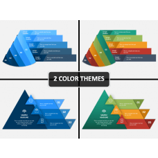 Folded Pyramid PPT Cover Slide