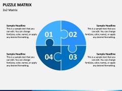 Puzzle Matrix PPT Slide 2