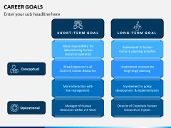 Career Goals PPT Slide 3