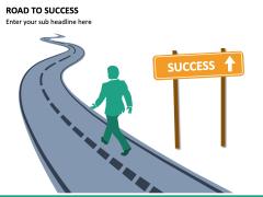 Road To Success PPT Slide 3
