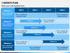 1 Month Plan PPT Slide 3