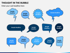 Thought in the Bubble PPT Slide 1