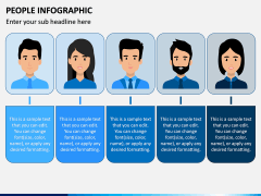 People Infographic PPT Slide 7